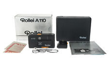 Rollei A110 A 110 Subminiature 23mm F2.8 Film Camera + Flash + Box  #69621