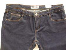 """Women Jeans by Nevada Size 17 NWT Dark Navy Stretch 5-Pockets Waist 40"""" Hip 48"""""""