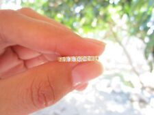 .31 Carat Diamond Yellow Gold Half Eternity Ring 18k codeHE10 sepvergara