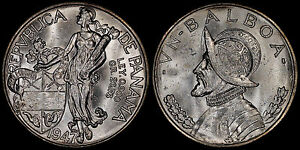 PANAMA BALBOA 1947 (CHOICE UNC) *PREMIUM QUALITY*