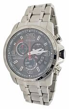 Citizen Eco Drive BY0100-51H Steel Chrono Time A-T Radio Controlled 44mm Watch