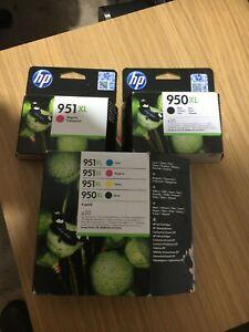 HP  950XL/951 GENUINE INK CARTRIDGES