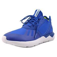 Chaussures bleus adidas en toile pour garçon de 2 à 16 ans
