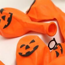 20PCS New Orange Colour Pumpkin Similing Face Balloons For Halloween Party 30cm
