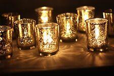 NEW Mercury Votive Candle Holder. Set of 12 gold FREE SHIPPING
