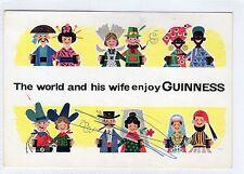 GUINNESS: Advertising postcard (C6791).