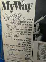 Billy Eckstine LP My Way Motown 646 Rare Signed Auto History