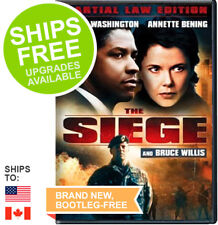 The Siege (DVD Martial Law Edition, 1998) NEW, Denzel Washington, Bruce Willis