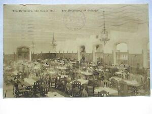 1922 U CHICAGO BOOKSTORE POSTCARD REFECTORY IDA NOYES HALL UNIVERSITY OF CHICAGO
