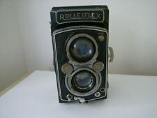 Rolleiflex TLR Formule optique Tessar 3.5, S/N 1026715