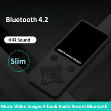 Slim Bluetooth MP3 MP4 плеер 32 ГБ с FM Dedia ЖК-экран Hifi музыкальный плеер