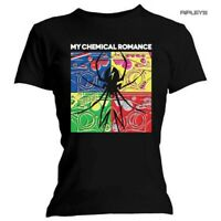 Official Ladies T Shirt MY CHEMICAL ROMANCE Explosive MCR All Sizes