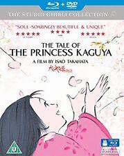 The Tale of the Princess Kaguya [Blu-ray + DVD] [2015][Region 2]