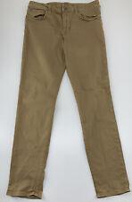 American Eagle Outfitters Flex Slim Skinny Khaki Pants 31x 32 (Actual 32x30)
