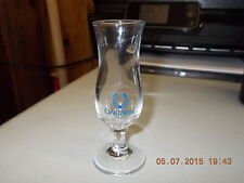 Oakiawn Horse Race Track Clear Shot Glass with Blue Horse Shoe