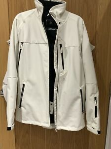 Volkl Sensortex 4 Way Stretch Winter White Sports Jacket 2XL VGC