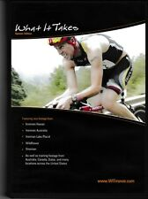 What it Takes - Spinner Edition  - Triathlon - Endurance Athlete - Cycling - DVD