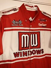 Chi Chie Terry Labonte MW WINDOWS Nascar Busch Pit Crew Shirt Racing Race Used
