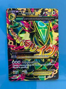 Mega Rayquaza ex full art carta pokemon