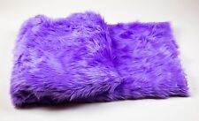 """Throw Blanket / Bed Spread Coverlet / Soft Purple  faux fur  108"""" x 60"""""""