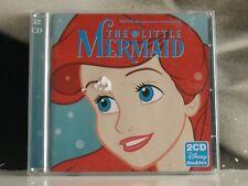LA SIRENETTA // THE LITTLE MERMAID - ORIGINAL SOUNDTRACK - 2 X CD CON SING-ALONG