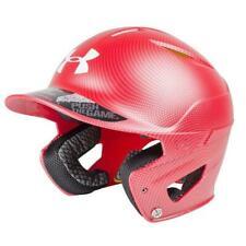 Under Armour Converge UABH2-150CARB Adult Carbon Tech Scarlet Batting Helmet