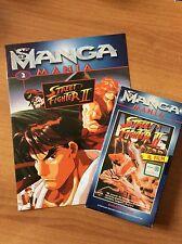MANGA MANIA  STREET FIGHTER II   IL FILM  VHS + FASCICOLO rara