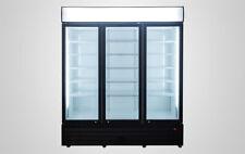 Refrigerator 3 Door Cooler Glass Door Nsf Commercial Store Supermarket Liquor