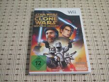 Star wars the clone wars republic Heroes pour nintendo wii et wii u * OVP *