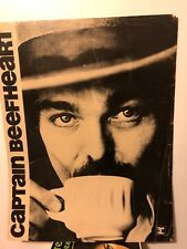 ORIGINAL CAPTAIN BEEFHEART w COFFEE CUP PROMO POSTER REPRISE RECORDS STORE RARE