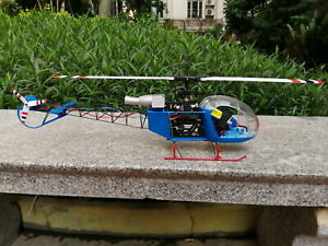 230 class RC helicopter SA-315 LAMA scale fuselage