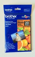 BROTHER Premium Plus Glossy Photo Paper - 10x15cm - 20 Sheets