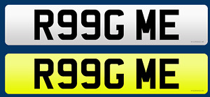 Ring Me!!  Number Plate R99G ME Private Number Plate