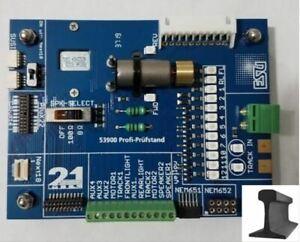 ESU 53900 ~ Newest Version ~ DCC Decoder Tester ~ Cube Speaker & More LEDs