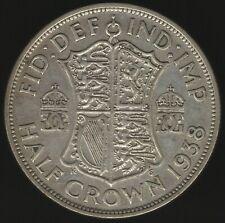 More details for 1938 george vi silver half crown coin   british coins   pennies2pounds