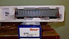 ROCO 66304 Carro telonato grigio scorrevole a 4 assi tipo Rils delle CD