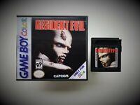 Resident Evil Gameboy Color Custom Game / Case Unreleased Nintendo GBC (USA)