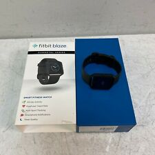 Fitbit Blaze Special Edition Gunmetal Watch Large Black w/ Box Tested