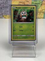 SHIPS SAME DAY Rowlet - 9/149 - Common Sun & Moon Base Set Pokemon Near Mint