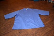 J6- New Chef Fashion Apparel Designs Blue 3/4 Length Sleeve Male Size Xl