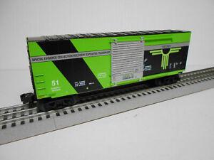 LIONEL 2023050 B AREA 51 RAILROAD ALIEN ROSWELL HI-CUBE BOXCAR O GAUGE TRAIN