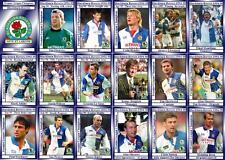 Blackburn Rovers 1995 Premier League Champions football trading cards (1994-95)
