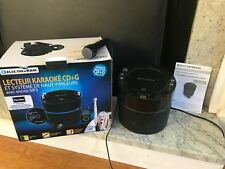 Electrohome Karaoke Machine Speaker System CD+G Player with 2 Microphone
