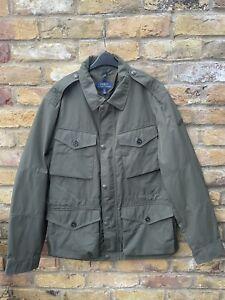 Ralph Lauren Polo Troops Classics 4 Pocket Jacket Green Large
