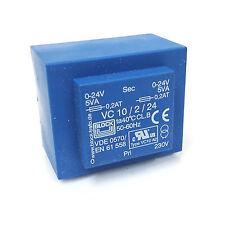 PCB Trasformatore 24 V AC 10/2/24 Blocco VC-10/2/24