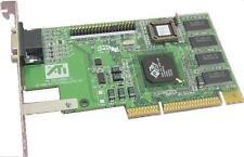 Tarjeta AGP ATI 109-49800-10 RGPRO 49801 Adaptador VGA.