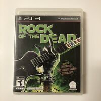 Rock of the Dead Playstation 3 (PS3) Video Game Complete