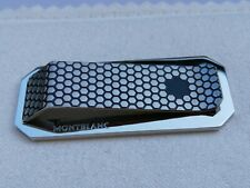 Montblanc Honeycomb Star Stainless Steel Money Clip
