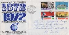 Barbados - 1972 Telecommunications Centennial First Day Cover - Cable & Wireless