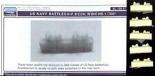 L'Arsenal Models 1/700 U.S. NAVY BATTLESHIP DECK WINCHES (10) Resin Set